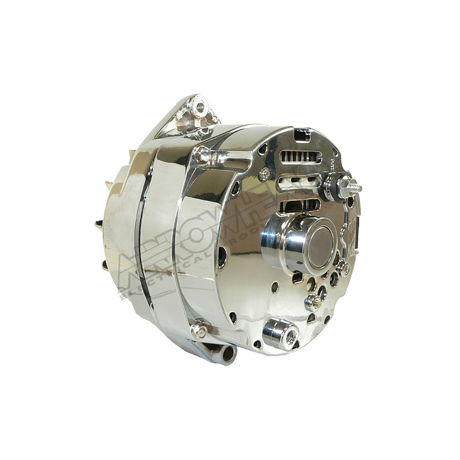 chrome alternator for 10si series replaces lester 7127. Black Bedroom Furniture Sets. Home Design Ideas
