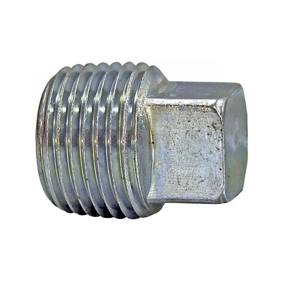 Buyers h square head plug quot male pipe thread