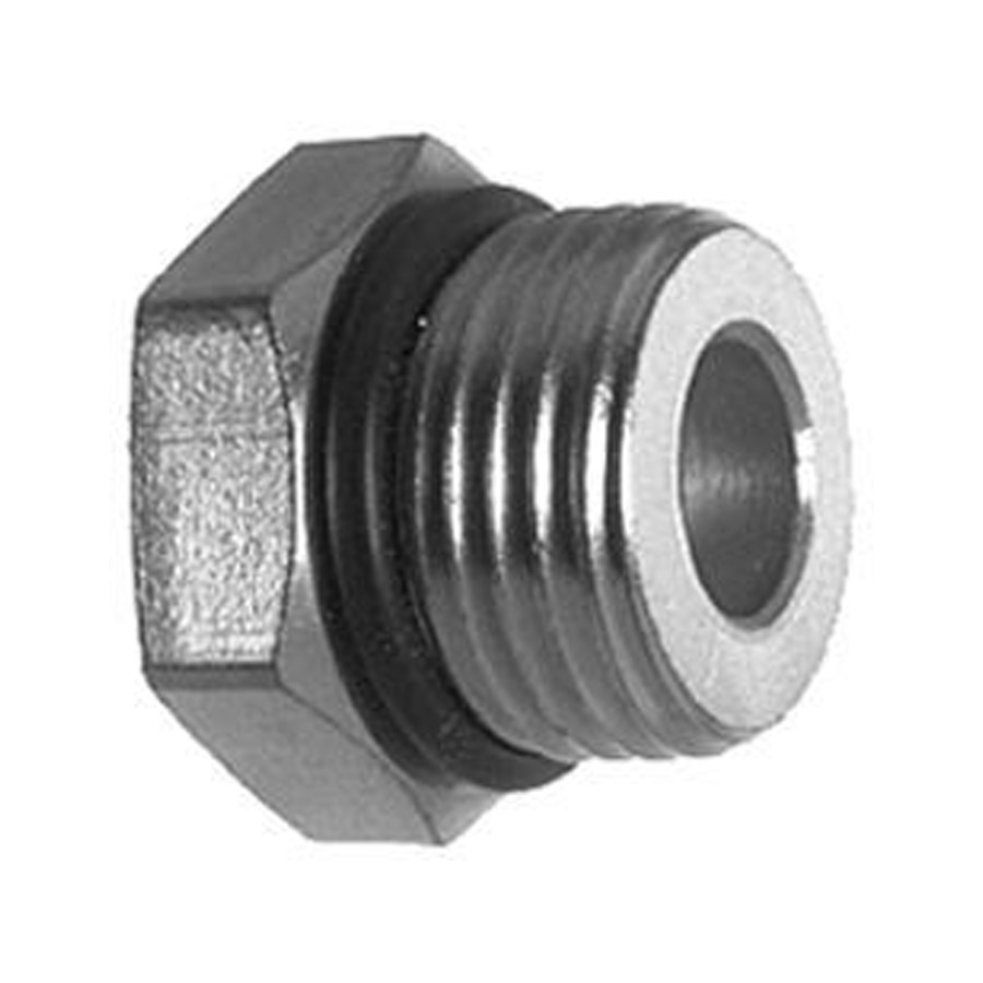 Buyers h straight thread o ring adapter