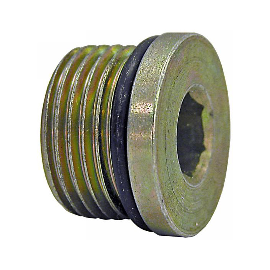 Buyers H7238X12 Straight Thread O-Ring Hex Socket Plug