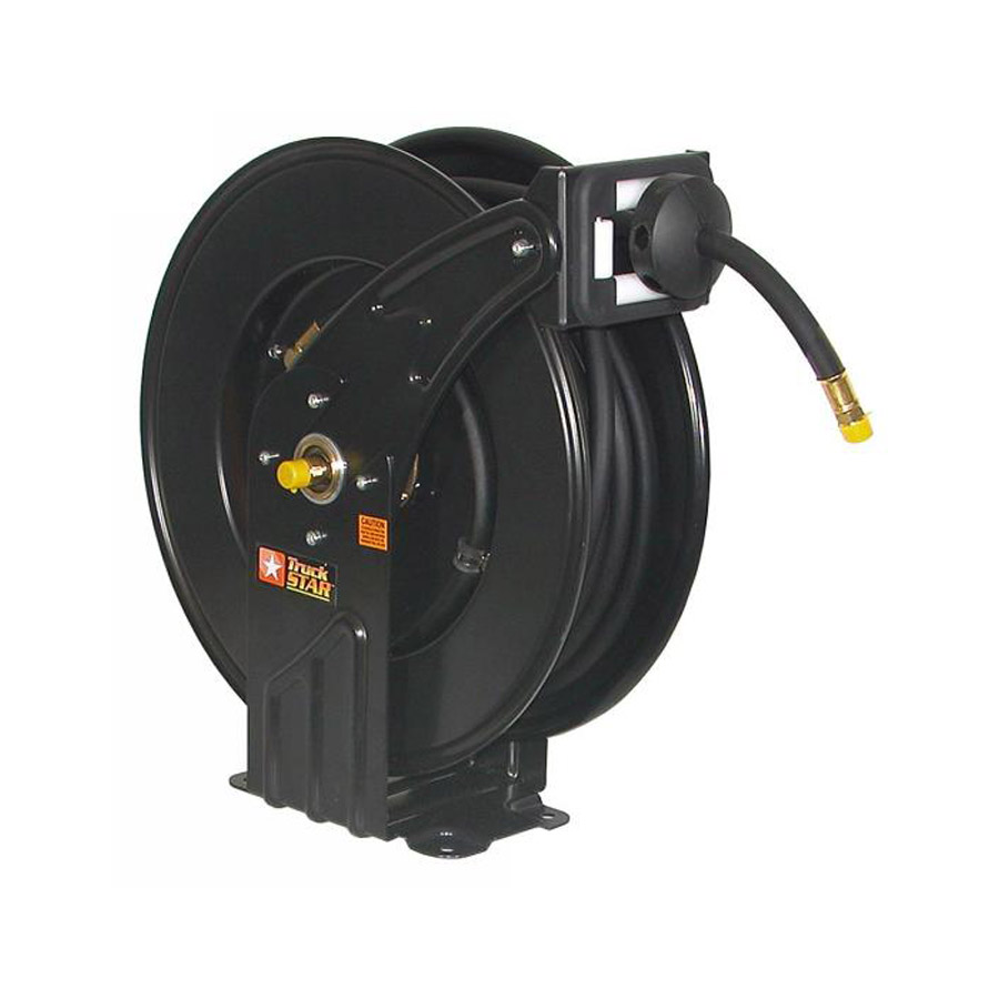 Buyers Hr1250 1 2 Quot X 50 Black Hose And Steel Reel Air