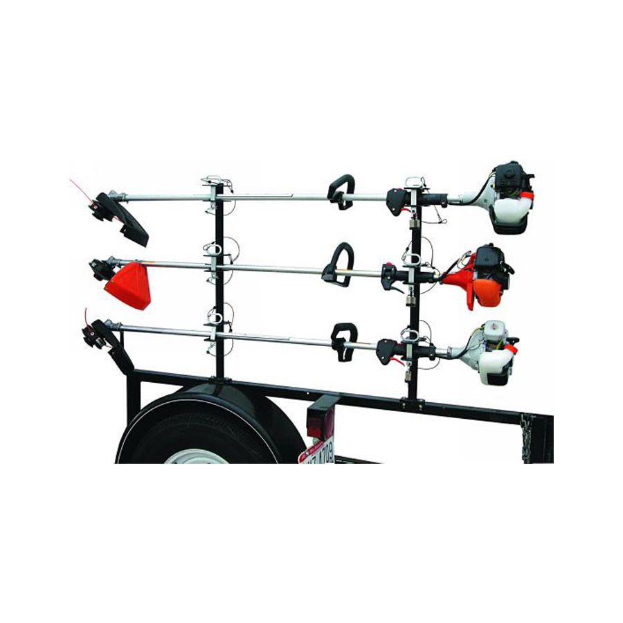 Buyers Lt13 3 Position Lockable Trimmer Rack With Channel