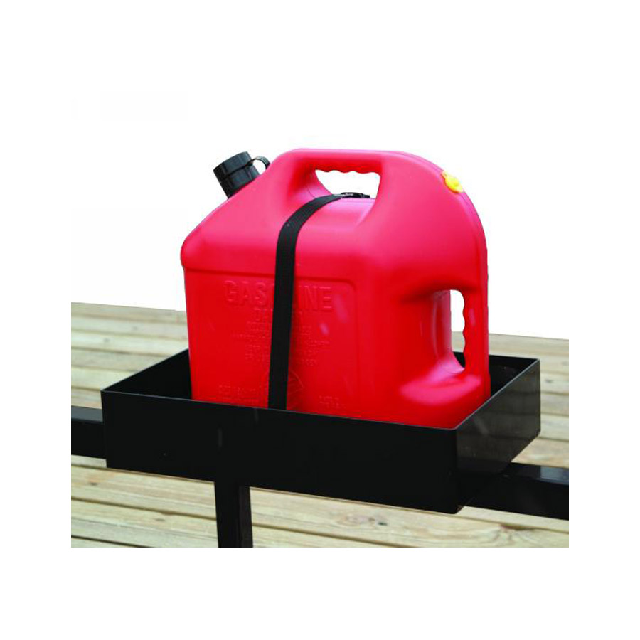 1 gallon gas can. trailer gas can rack for one 5 gallon or two 2-1/2 1 s