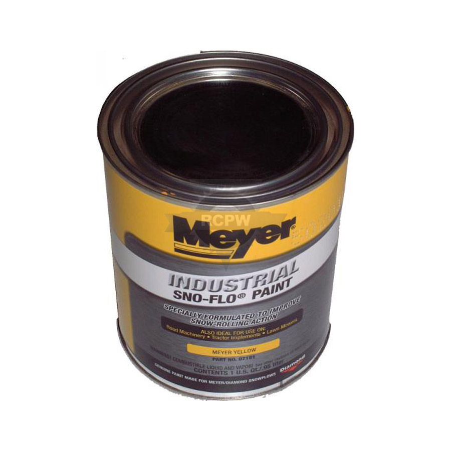 Meyer 07181 Yellow Paint Can (1 Quart) Replaces Meyer ...