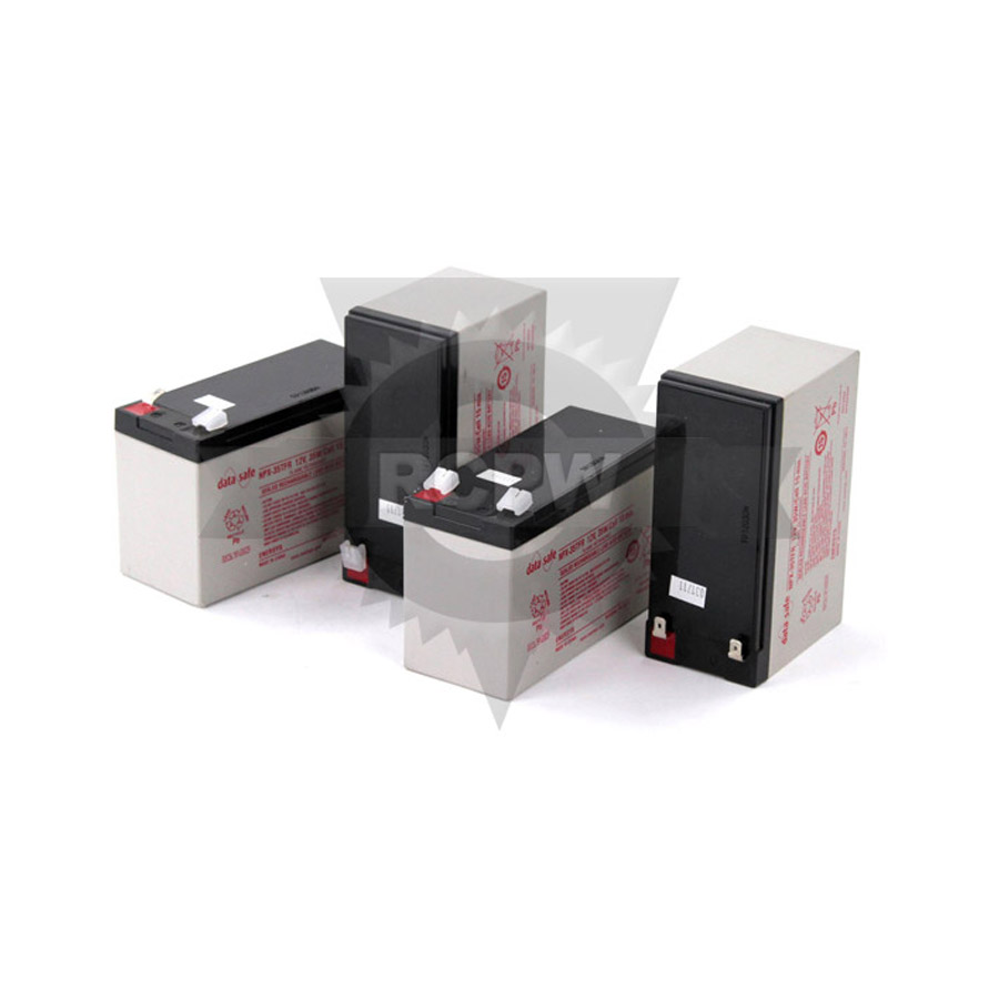 Mtd 925 04381a battery 12v 8 5ah set of 4 for Batterie pour autoportee mtd