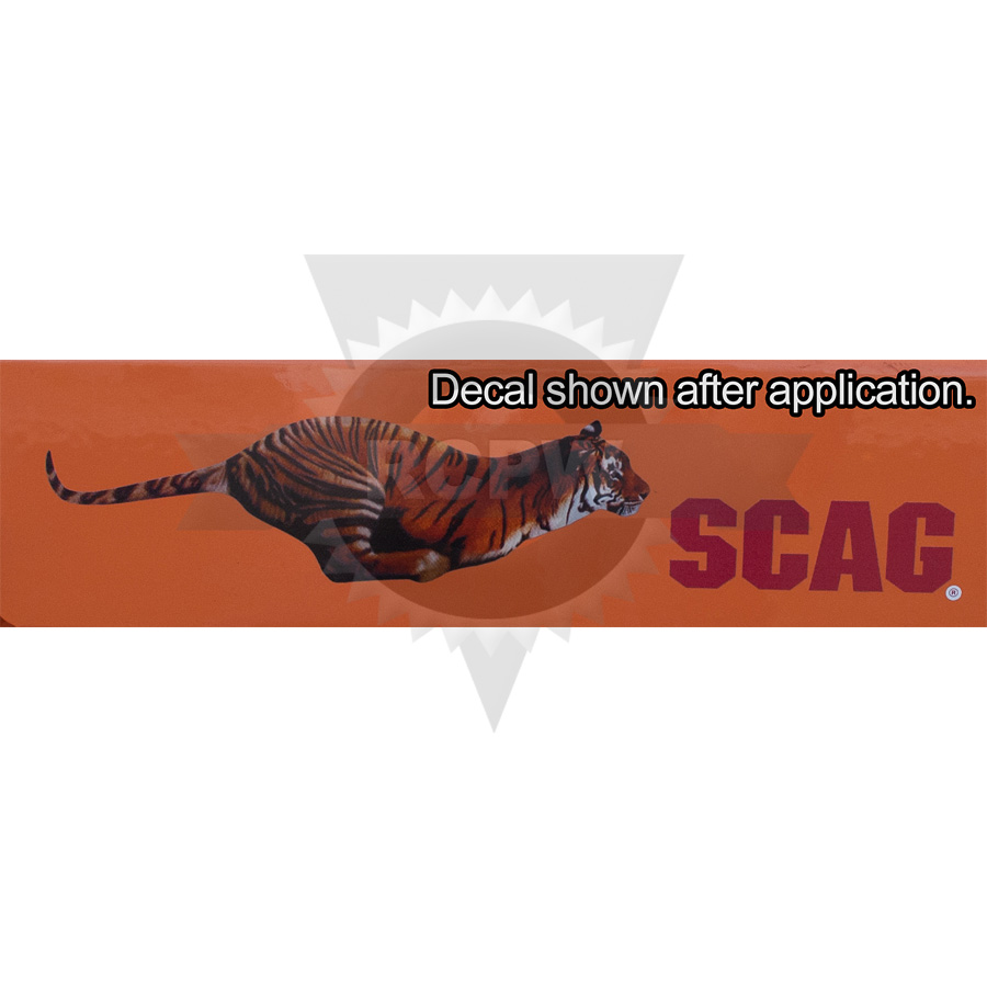 Scag 481694 DECAL, TIGER ($6.03)