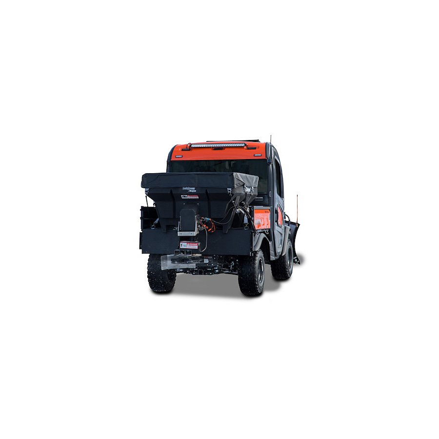 Sand Spreaders For Tractors : Buyers shpe saltdogg cubic yard electric