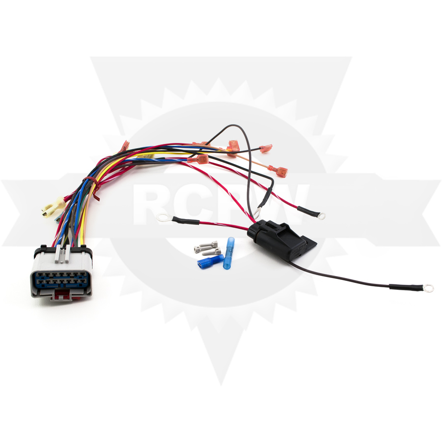 sno way solenoid harness kit  sno way 96112955 picture of solenoid harness kit click image above to enlarge