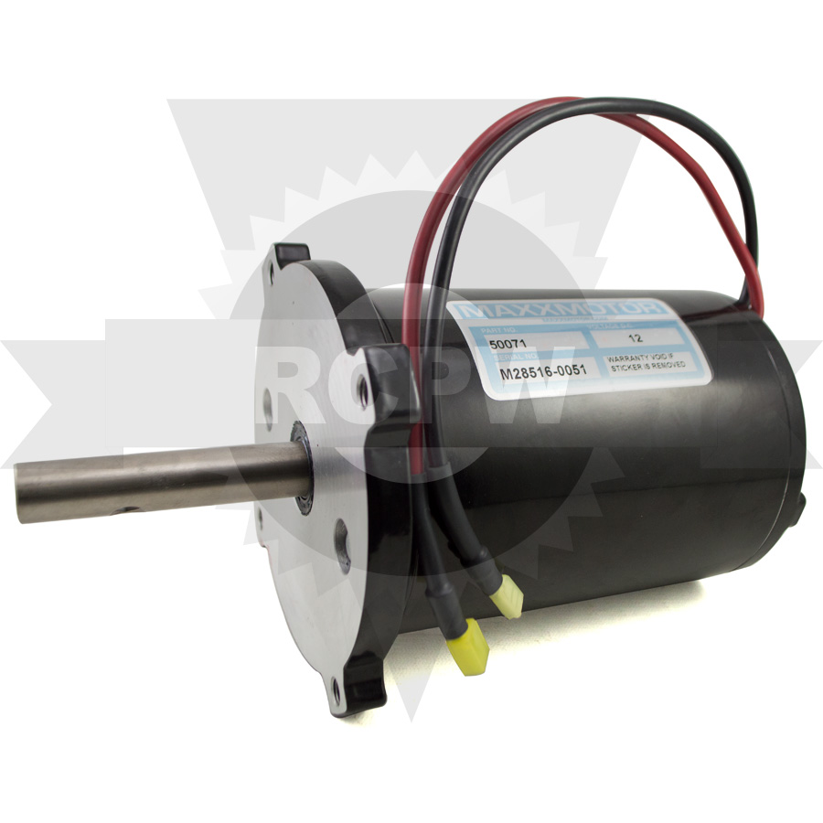 Rcpw 50071 Replacement 12v Dc 5hp Electric Spinner Motor