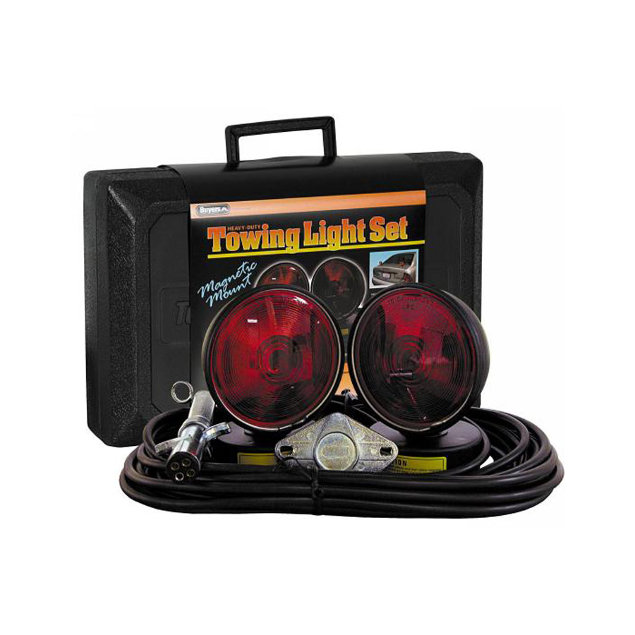 Buyers Tl257m Towing Light Set In Plastic Storage Case