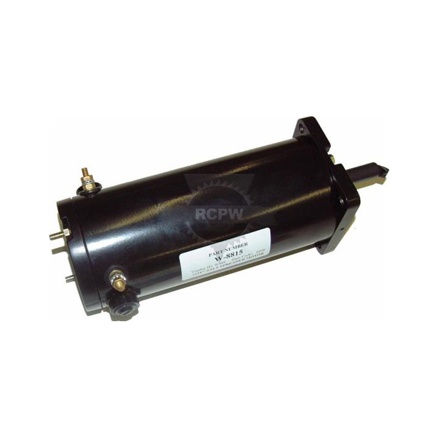 Western motor w8815 western and fisher replacement motor for Fisher snow plow pump replacement motor