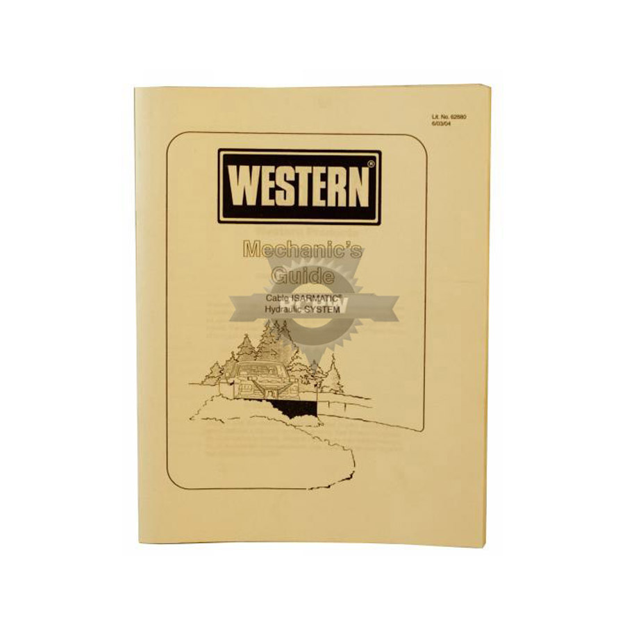 Western Snow Plow Manual : Western plow cable operated power unit pump
