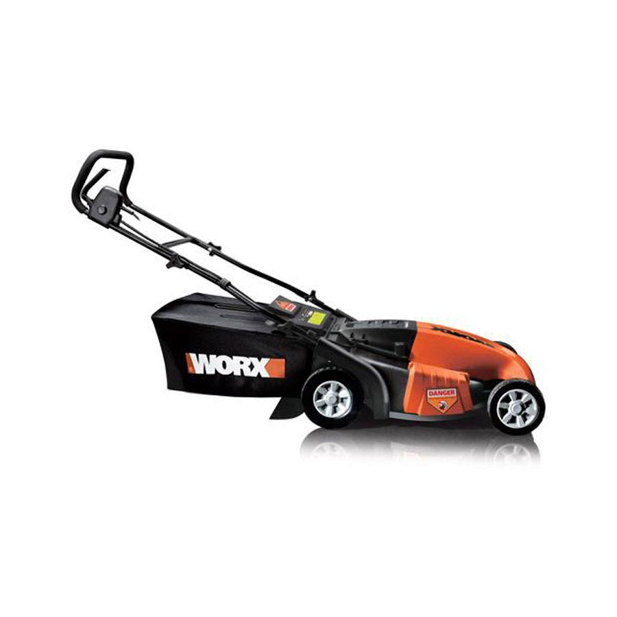 how to start a worx lawn mower