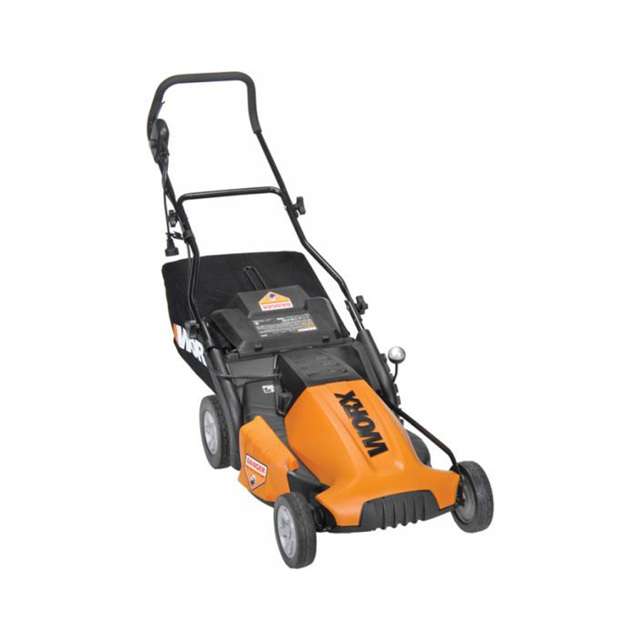 Worx Wg718 Worx Corded Electric 19 Quot Electric Lawn Mower