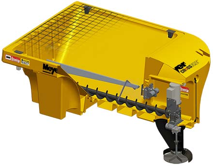 Salt Spreader Agitation System