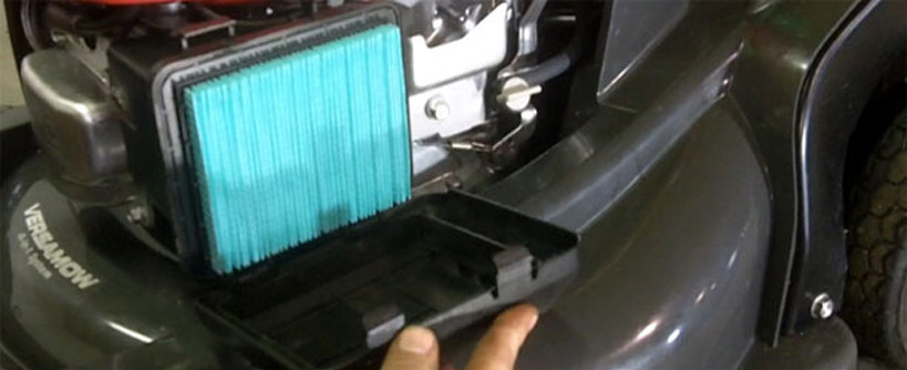 How To Replace A Spark Plug & Air Filter On A Honda Mower Main Image