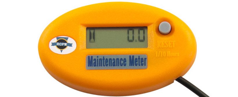 RCPW Hour Meter for Preventative Maintenance Main Image