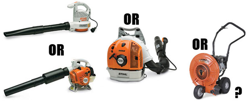 The Four Types of Leaf Blowers: Which is Right for You? Main Image