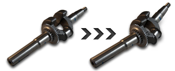 What causes a crank shaft to bend? Main Image