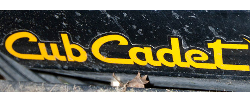Where to Find the Model and Serial Number on a Cub Cadet Zero-Turn Rider Main Image