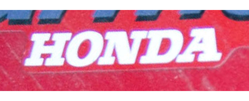 Where to Find the Model and Serial Number on a Honda Riding Mower Main Image