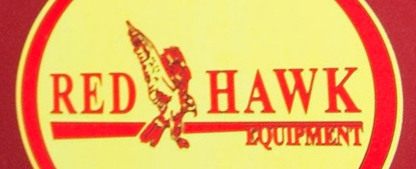 Where to Find the Model and Serial Number on a Red Hawk Walk Behind Mower Main Image
