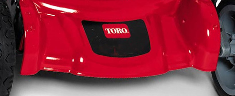 Where to Find the Model and Serial on a Toro Push Mower Main Image