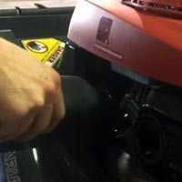 How To Install Oil Into A Lawn Mower Engine Thumbnail