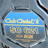 Where to Find The Model and Serial Number on a Cub Cadet Push Mower Thumbnail