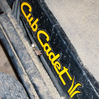 Where to Find the Model and Serial Number on a Cub Cadet Zero-Turn Rider Thumbnail