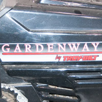 Where to Find the Model and Serial Number on a Gardenway/MTD Rider Thumbnail