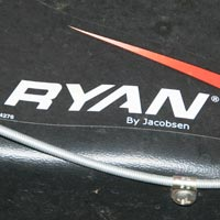 Where to Find the Model and Serial Number on a Ryan Walk Behind Aerator Thumbnail