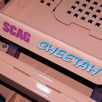 Where to Find the Model and Serial Number on a Scag Cheetah Mower Thumbnail