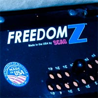 Where to Find the Model and Serial Number on a Scag Freedom Z Zero-Turn Mower Thumbnail