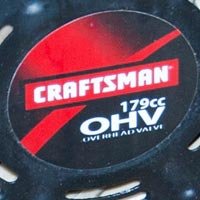 Where to Find the Model and Serial Number on a Sears Craftsman Snow Blower Thumbnail