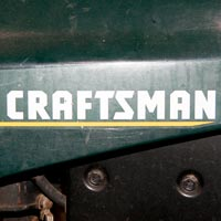 Where to Find the Model and Serial Number on a Sears Craftsman Riding Mower or Tractor Thumbnail