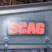 Where to Find the Model and Serial on a Scag Grass Bagger System Thumbnail
