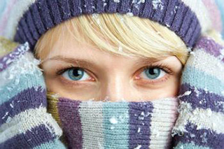 Bundled up with clear vision