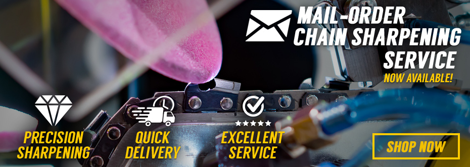 Mail-Order Chainsaw Chain Sharpening Service
