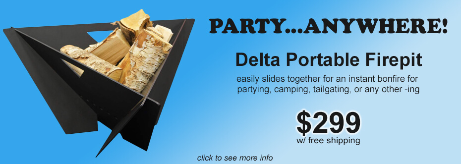 Delta Firepit Party Anywhere!