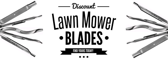 Discount Lawn Mower Blades at RCPW