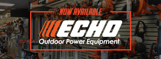 ECHO Outdoor Power Equipment Now Available!