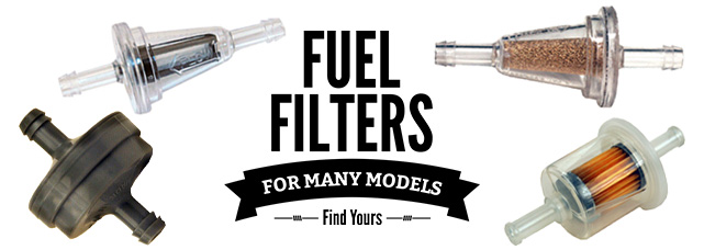 Fuel Filters for Many Models