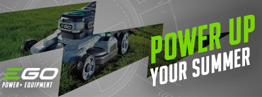 Power Up Your Summer with EGO POWER+ Outdoor Power Equipment