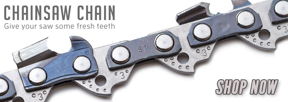 Chainsaw Chain: Give your saw some fresh teeth