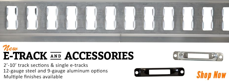 Truck & Trailer E-Track and Accessories at RCPW