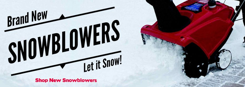 New Snowblowers at RCPW