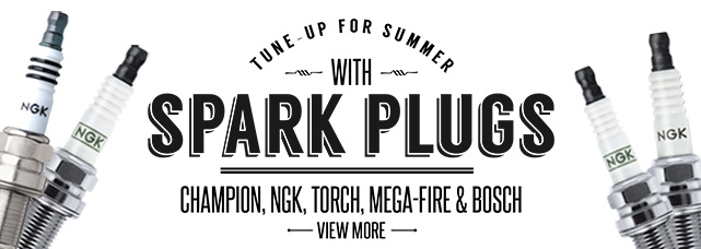Tune-Up for Summer with Spark Plugs