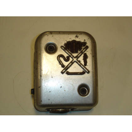 Picture of used Muffler with Cover (W/O Spark Arrestor)