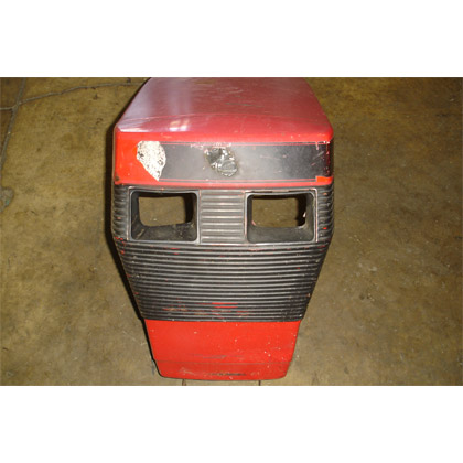 Picture of used Hood and Grill Assembly